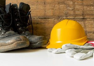 safety gloves & shoes